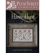 Hares Hunt cross stitch chart Plum Street Sampl... - $10.80