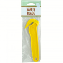 (Two Packages) -Yellow Safety Blades - $4.46