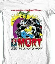 Mort the Dead Teenager T Shirt retro 1990s marvel comics graphic tee shirt image 2