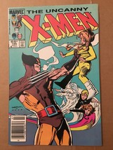 Uncanny X-Men 195 VF+/NM Condition 1985 Marvel Comic Book Wolverine Cover - $4.49