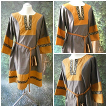 Medieval Tunic, Vikings, Renaissance Tunic, Cotton Tunic, Wedding - $95.00
