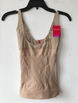 New Spanx Open Bust Camisole Natural SZ S $58 - $38.79