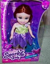 """Funville Sparkle Girlz Sparkle Tots 6""""H Girl Redhead Doll New - $8.88"""