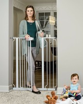 Regalo Easy Step Extra Tall Walk Thru Baby Gate, Includes 4-Inch Extensi... - $61.49