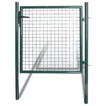 Single Door Fence Gate Steel Garden Panel Patio Barricade Terrace Wall Rail - $137.39