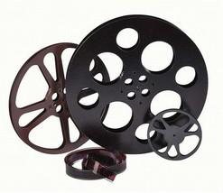 Rustic Finish Film Reel Wall Decor 3 Piece Set ... - $324.00