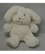 """Animal Adventure White Soft Plush Floppy Bunny Rabbit Lovey 11"""" - $9.85"""