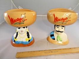 Macayo Mexican Restaurants Margarita Mugs Glasses Salsa Bowls set of 2 - $25.99