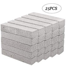 Hatoku 25 Pieces Pumice Stones for Cleaning Grey Pumice Scouring Pad Pumice Stic