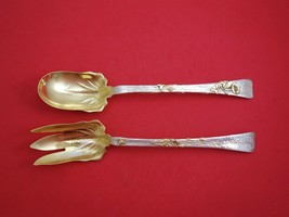 Lap Over Edge by Tiffany and Co Sterling Silver Salad Serving Set 2pc Spider Web - $8,595.00