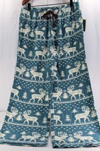 Woolrich Women's Sleepwear Little PLM Flannel Green Deer/Trees Print XL - $24.99