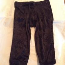 Boys Youth large ASA Football pants black football practice athletic spo... - $17.99