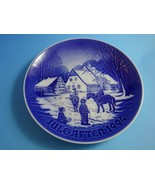 "1994  Bing & Grondahl Danish B&G Christmas Plate ""A Day at Deer Park"" - $49.00"