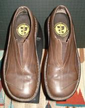 Merrell Tetra Flex Dark Brown Leather Sport Loafer 36/6 US Excellent! - $21.90