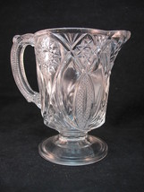 McKee ISIS 4 3/4 in Creamer No 132 EAPG Clear Hobstar Arches VFC - $22.95