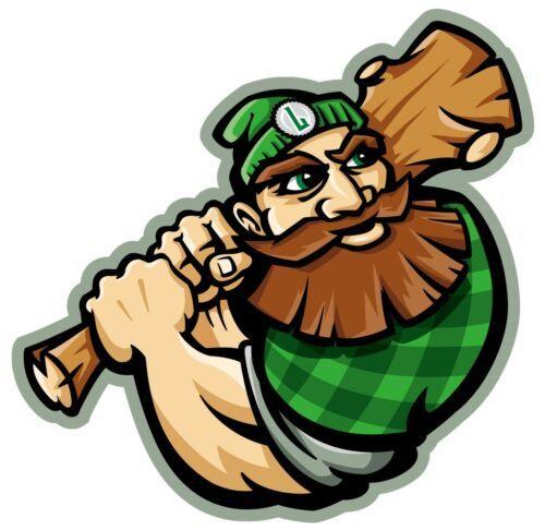 MLB Elite Series Hat La Crosse Loggers Northwoods League Baseball Hat S/M Fitted