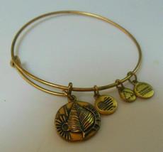 Alex And Ani Vintage Birch Charm Bracelet Renewal, Creativity, Beginnng - $23.00
