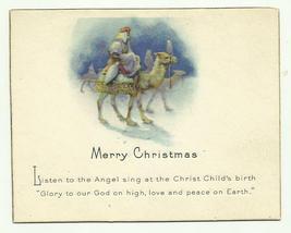 Vintage Christmas Greeting Card 1920's Used - $9.99