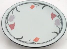 """Lovely Dansk Tivoli Belles Fleurs Gray Large 12 1/4"""" Serving Platter Wal... - $17.77"""
