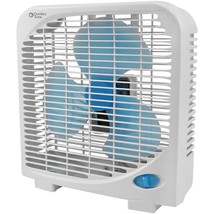 Comfort Zone 9' 2-speed Portable Box Fan HBCLCZ9BAS - $32.47