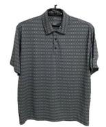 Nike Golf men's polo shirt short sleeve half button front size L/G - $19.69