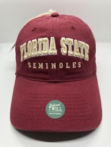NCAA Florida State Seminoles Cap Hat Adult Adjustable Relaxed Twill Legacy New - $12.13