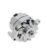 New Chrome SB Ford  1G Style 110 amp 1 Wire Alternator Mustang 289 302 3... - $109.99