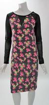Betsey Johnson 2 Piece Top & Skirt Mesh Long Sleeve Scuba Flower Dress N... - $780,60 MXN