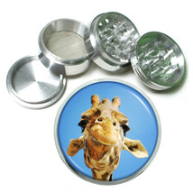 "Funny Face Animals D6 Aluminum Herb Grinder 2.5"" 63mm 4 Piece - $13.81"