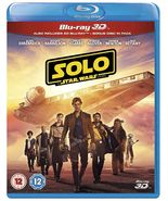Solo: A Star Wars Story Blu-ray 3D 2018 Box Set Brand New Sealed - $33.50