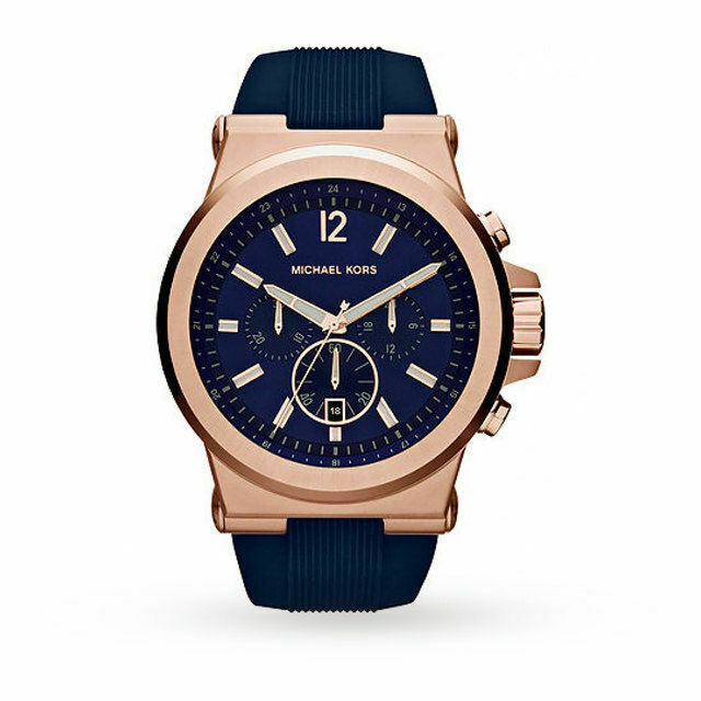 Primary image for Michael Kors MK8295 Blue Wrist Watch for Men