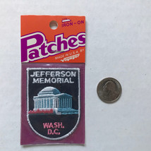 Jefferson Memorial Washington DC Patch Iron On Vintage by Voyager - $6.65