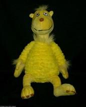 """16 """" Jaune Snoozapalooza Dr Seuss KOHL'S Cares pour Enfants Peluche Animal Jouet - $14.00"""