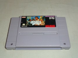 Uncharted Waters, Game Only, Super Nintendo SNES - $33.99