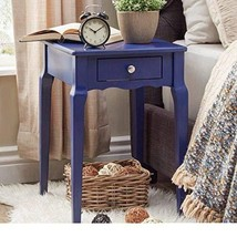 ModHaus Living Modern Country Style Wood Accent Nightstand End Sofa Side... - $86.23