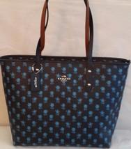 NWT Coach Badlands Floral City Zip Tote Handbag in Midnight Multi F 3816... - $158.95