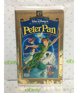 VHS Tape Peter Pan (1998, 45th Anniversary Limited Edition) - $9.85