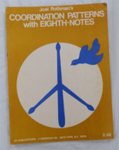 Coordination Patterns with Eighth Notes - Rothman - For Trap set - $4.00