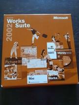 Microsoft Works Suite 2002 PC - $29.58