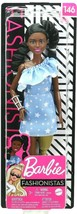 Barbie Fashionistas Doll #146 with Blue One Shoulder and Prosthetic Leg - $16.71
