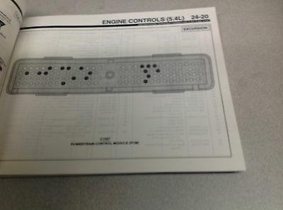 2000 Ford F-250 250 F350 F 450 550 Excursion Truck Elektrisch Wiring Manuell Ewd image 2