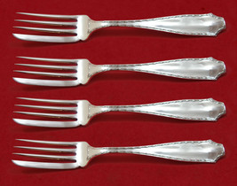 "Marquise by Tiffany and Co Sterling Silver Fish Fork Set 4pc AS Custom 6 7/8"" - $683.05"