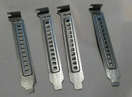 LOT of  4 Dell Full Height PCI Blank Slot Covers DD463  - $9.99