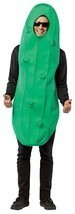 Pickle Adult Costume Men Women Green Snack Food Halloween Unique GC6544 - $44.99