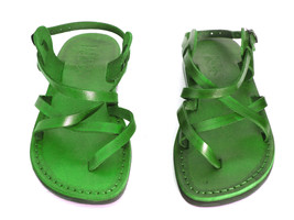 Leather Sandals for Men and Women GLADIATOR by SANDALIM Biblical Greek S... - $39.83 CAD+