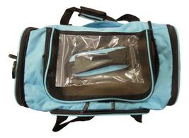 Pet Carrier, Sky Blue, 18 inches x 11 inches x 11 inches image 3