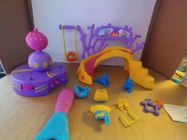 Polly Pocket Mermaid Stars Kerstie with Spinning Seals (no doll included) - $10.00