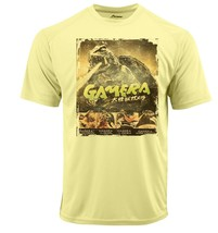 Gamera Dri Fit graphic Tshirt moisture wick SPF retro comic sport Sun Shirt image 2