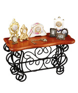 Dollhouse Wrought Iron Sideboard Display Filled 1.703/1 Reutter Miniature - $52.25