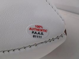 URBAN MEYER / AUTOGRAPHED OHIO STATE BUCKEYES LOGO WHITE PANELED FOOTBALL / COA image 5